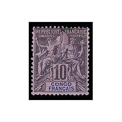 Congo N° 016 Obli