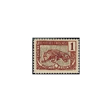 Congo N° 027 Obli