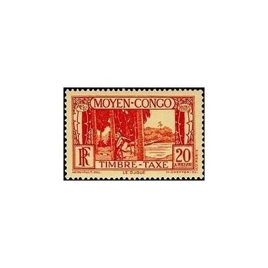 Congo N° TA 025 N *