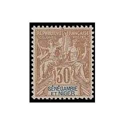 SENEGAMBIE NIGER N° 009 N *