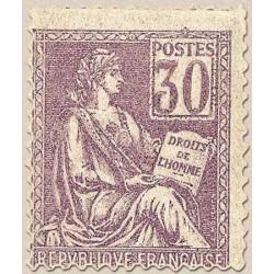 FR N° 115 Neuf avec trace de charni