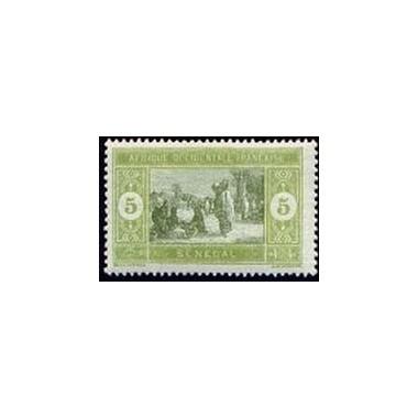 Senegal N° 056 Obli