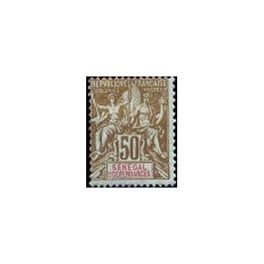 Senegal N° 025 Obli