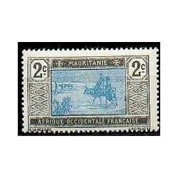 Mauritanie N° 018 Obli
