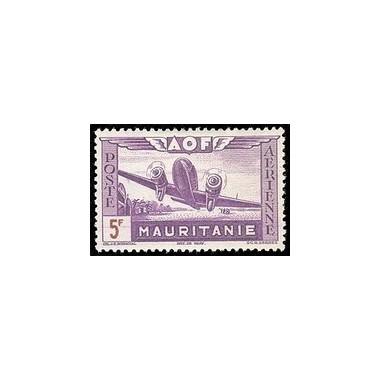 Mauritanie  PA N° 014 N *