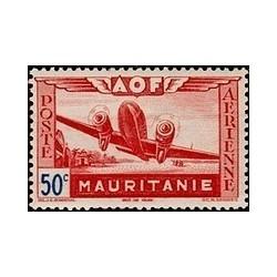 Mauritanie  PA N° 010 N **
