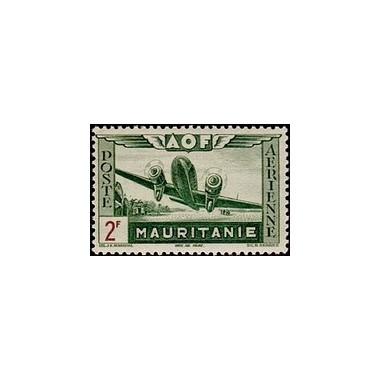 Mauritanie  PA N° 012 N *