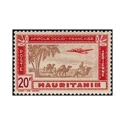 Mauritanie  PA N° 016 N **