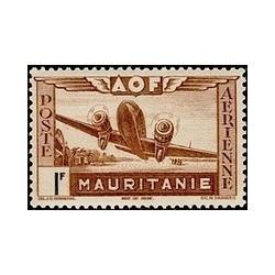 Mauritanie  PA N° 011 N **