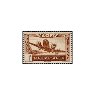 Mauritanie  PA N° 011 N *