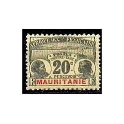 Mauritanie  TA N° 012 Obli