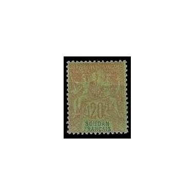 Soudan  N° 009 Obli