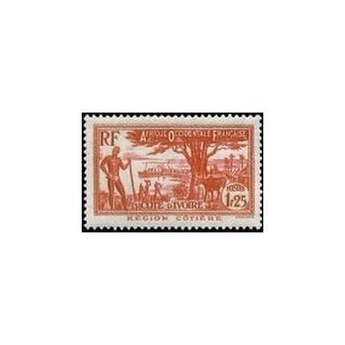 Cote d'Ivoire N° 125 N **