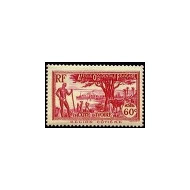 Cote d'Ivoire N° 154 N **