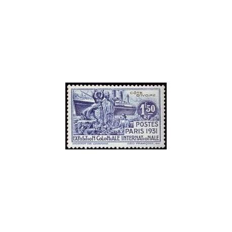 Cote d'Ivoire N° 087 N *
