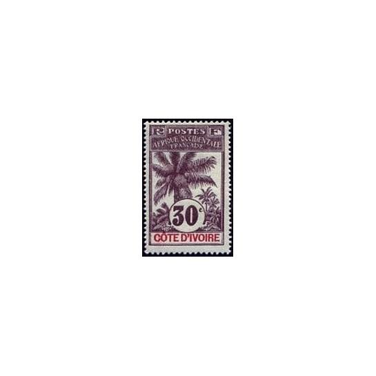 Cote d'Ivoire N° 028 N *