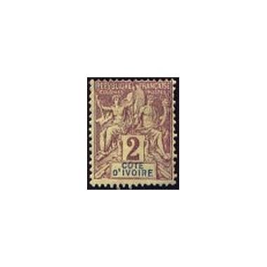 Cote d'Ivoire N° 002 N *