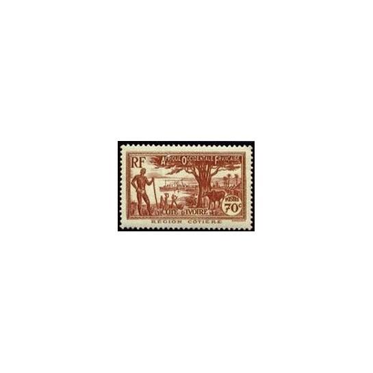 Cote d'Ivoire N° 155 N *