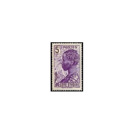 Cote d'Ivoire N° 112 N *