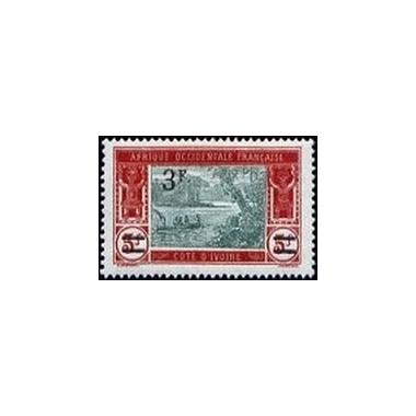 Cote d'Ivoire N° 078 Obli
