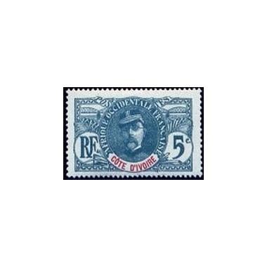 Cote d'Ivoire N° 024 Obli