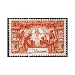 Cote d'Ivoire N° 086 Obli
