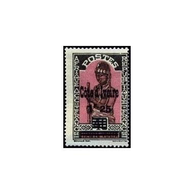 Cote d'Ivoire N° 102 Obli