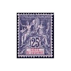 Cote d'Ivoire N° 008 Obli
