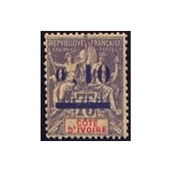 Cote d'Ivoire N° 019 Obli