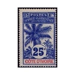 Cote d'Ivoire N° 027 Obli