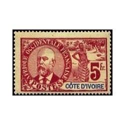 Cote d'Ivoire N° 035 Obli