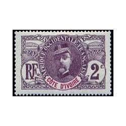 Cote d'Ivoire N° 022 Obli