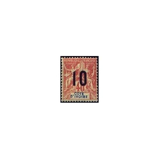 Cote d'Ivoire N° 038 Obli