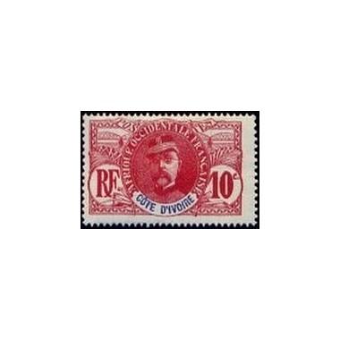 Cote d'Ivoire N° 025 Obli