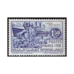 Cote d'Ivoire N° 087 Obli