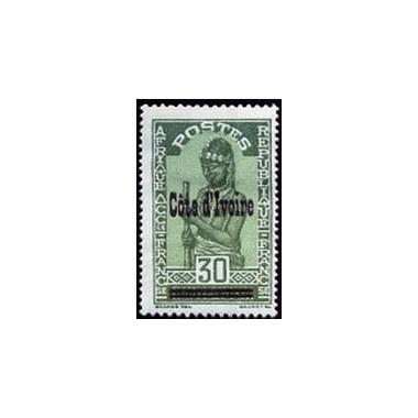 Cote d'Ivoire N° 095 Obli