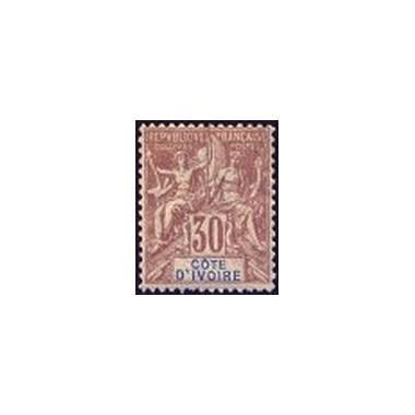 Cote d'Ivoire N° 009 Obli