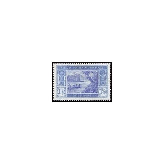 Cote d'Ivoire N° 082 Obli
