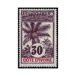Cote d'Ivoire N° 028 Obli