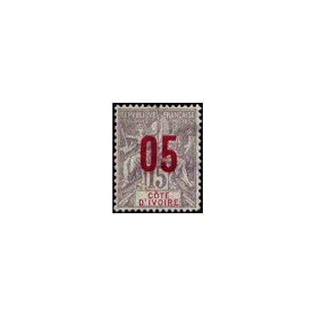 Cote d'Ivoire N° 036 Obli