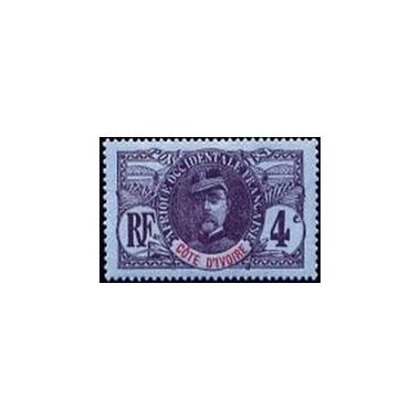 Cote d'Ivoire N° 023 Obli