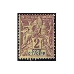 Cote d'Ivoire N° 002 Obli
