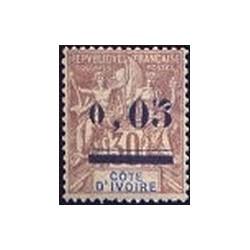Cote d'Ivoire N° 018 Obli