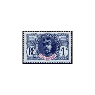 Cote d'Ivoire N° 021 Obli