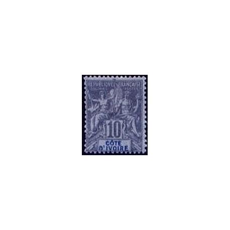 Cote d'Ivoire N° 005 Obli