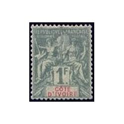 Cote d'Ivoire N° 013 Obli