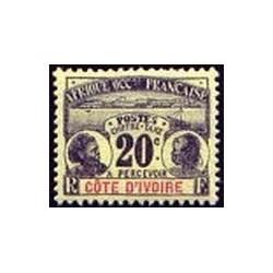 Cote d'Ivoire N° TA004 Obli