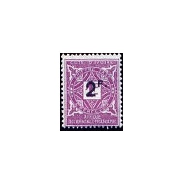 Cote d'Ivoire N° TA017 N *