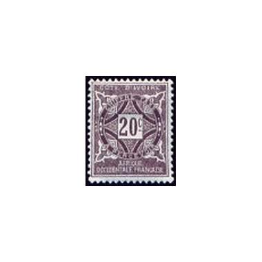 Cote d'Ivoire N° TA012 N *