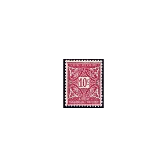 Cote d'Ivoire N° TA010 N *